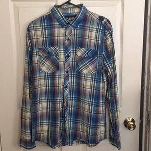 Rue 21 carbon dress shirt